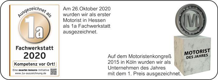 Reinhardt Gartentchnik in Sontra und Eschwege ist ausgezeichnete Fachwerkstatt 2020