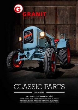 Granit Classic-Parts Katalog 2018/2019