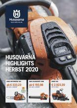 Husqvarna Herbst Broschuere 2020